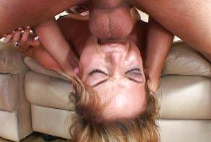 Głębokie ruchanie w usta