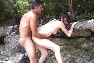 Sex na plaży w Brazylii