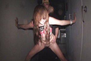 Sex z owłosioną japonką