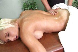 Jessica Lynn masaż penisa